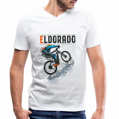E MTB ELDORADO - Männer Bio-T-Shirt mit V-Ausschnitt von Stanley & Stella