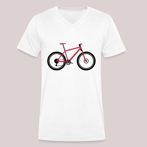 23-30 MTB HardTail - Männer Bio-T-Shirt mit V-Ausschnitt von Stanley & Stella