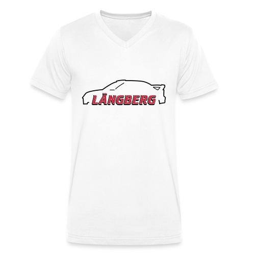 logotype Laengberg - Ekologisk T-shirt med V-ringning herr från Stanley & Stella