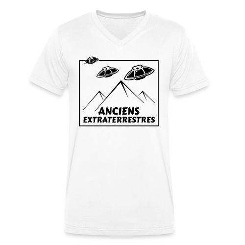 Anciens Extraterrestres - T-shirt bio col V Stanley & Stella Homme