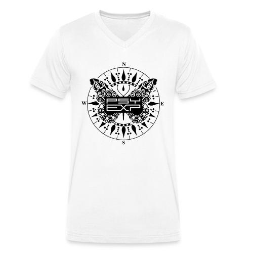 Psy Exp Festival Logo - Männer Bio-T-Shirt mit V-Ausschnitt von Stanley & Stella