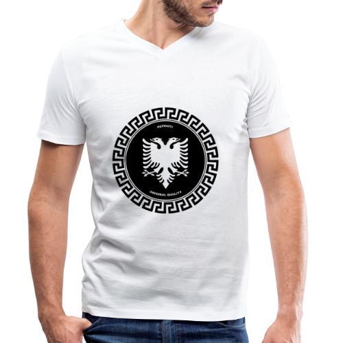 Patrioti Medusa - Männer Bio-T-Shirt mit V-Ausschnitt von Stanley & Stella