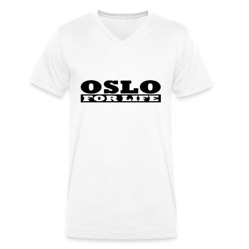 Oslo fürs Leben - Männer Bio-T-Shirt mit V-Ausschnitt von Stanley & Stella