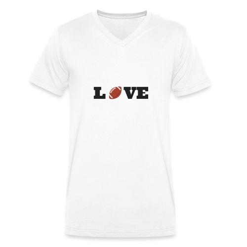 Love foot us - T-shirt bio col V Stanley & Stella Homme