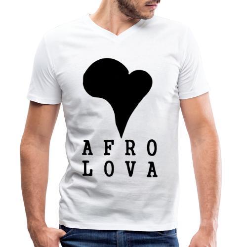 Afro Lova Original - T-shirt bio col V Stanley & Stella Homme