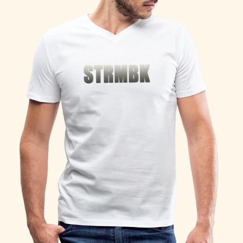 KORTFILM STRMBK LOGO - Mannen bio T-shirt met V-hals van Stanley & Stella