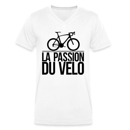 velo - Mannen bio T-shirt met V-hals van Stanley & Stella