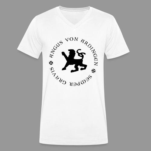 angus von ardingen semper gravis - Männer Bio-T-Shirt mit V-Ausschnitt von Stanley & Stella