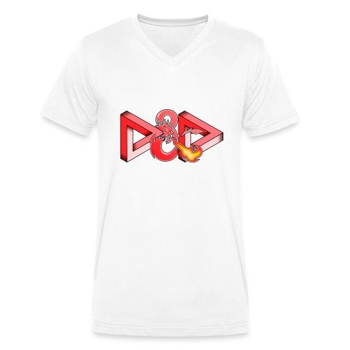 Gioco infinito - T-shirt ecologica da uomo con scollo a V di Stanley & Stella