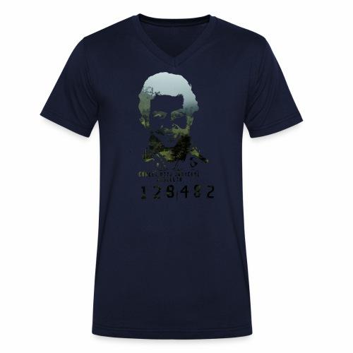 Pablo Escobar - Regenwald in Kolumbien - Männer Bio-T-Shirt mit V-Ausschnitt von Stanley & Stella