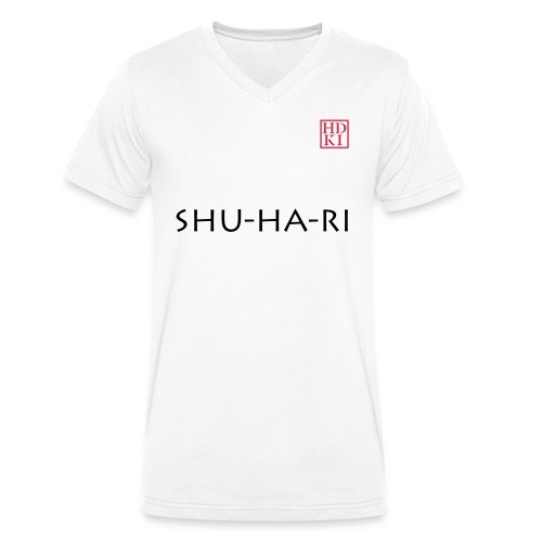 Shu-ha-ri HDKI - Men's Organic V-Neck T-Shirt by Stanley & Stella
