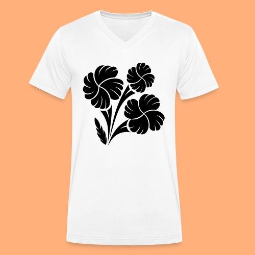 trio fleuri - T-shirt bio col V Stanley & Stella Homme