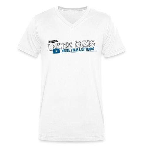 onstage2 - Mannen bio T-shirt met V-hals van Stanley & Stella