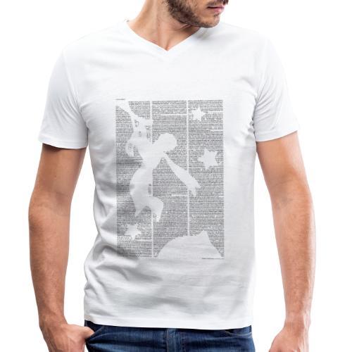 Der kleine Prinz Mindesthöhe 26cm - Männer Bio-T-Shirt mit V-Ausschnitt von Stanley & Stella