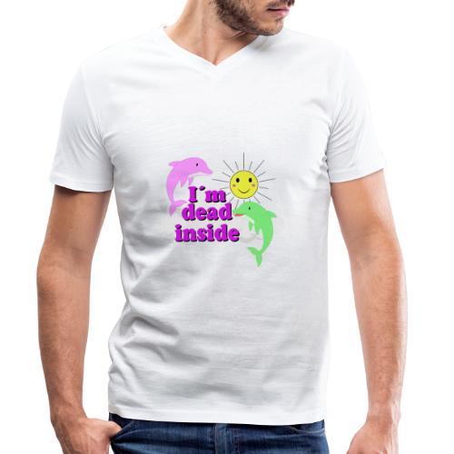 Ich bin bereits innen Tod Design - Männer Bio-T-Shirt mit V-Ausschnitt von Stanley & Stella