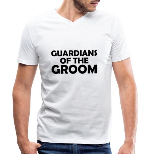 Wächter des Bräutigam JGA Junggesellenabschied - Männer Bio-T-Shirt mit V-Ausschnitt von Stanley & Stella
