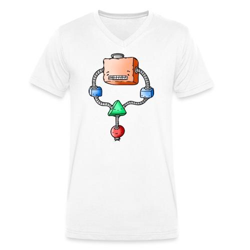 Strange Thingy - Men's Organic V-Neck T-Shirt by Stanley & Stella