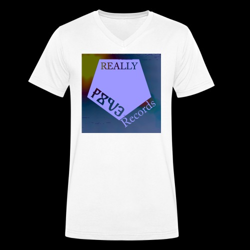 RNR Design2 png - Men's Organic V-Neck T-Shirt by Stanley & Stella