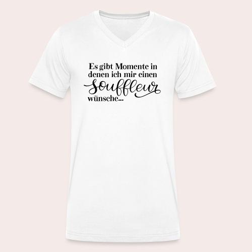 Souffleur - Männer Bio-T-Shirt mit V-Ausschnitt von Stanley & Stella