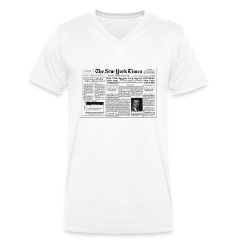 York design - T-shirt bio col V Stanley & Stella Homme