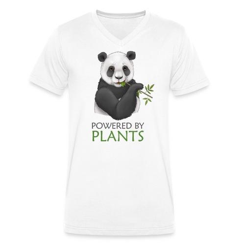 Panda 2 Plantbased - Ekologisk T-shirt med V-ringning herr från Stanley & Stella