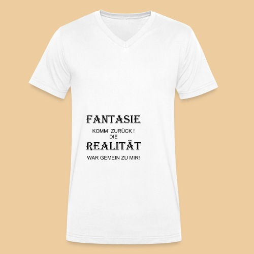 fanta1 - Männer Bio-T-Shirt mit V-Ausschnitt von Stanley & Stella