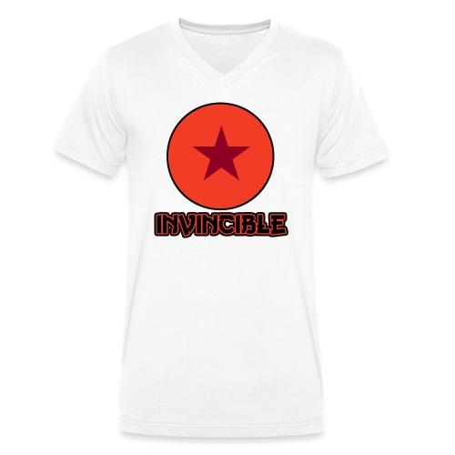 Invincible - Männer Bio-T-Shirt mit V-Ausschnitt von Stanley & Stella