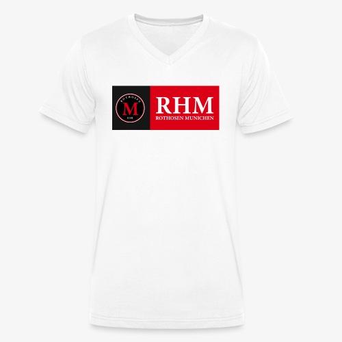 RHM-BAnner - Männer Bio-T-Shirt mit V-Ausschnitt von Stanley & Stella