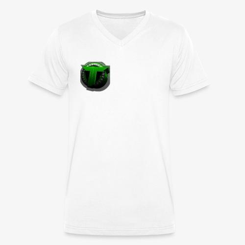 TEDS MERCHENDISE - Økologisk T-skjorte med V-hals for menn fra Stanley & Stella