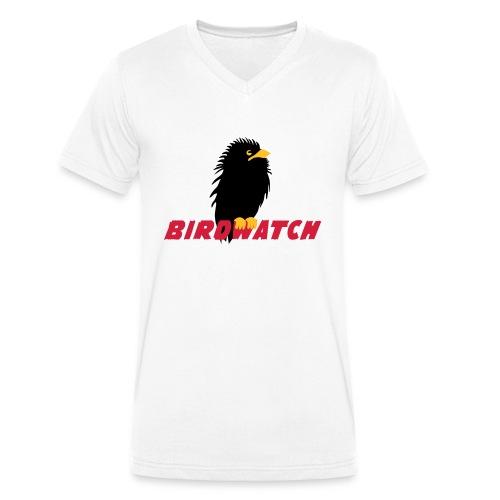 Birdwatch - Männer Bio-T-Shirt mit V-Ausschnitt von Stanley & Stella