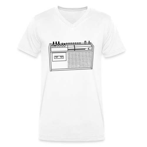 Rekorder R160 - Männer Bio-T-Shirt mit V-Ausschnitt von Stanley & Stella