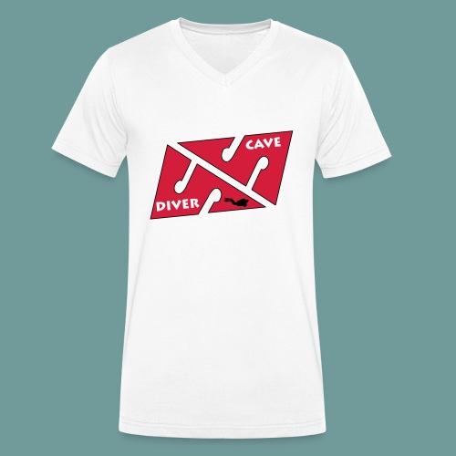 cave_diver_01 - T-shirt bio col V Stanley & Stella Homme