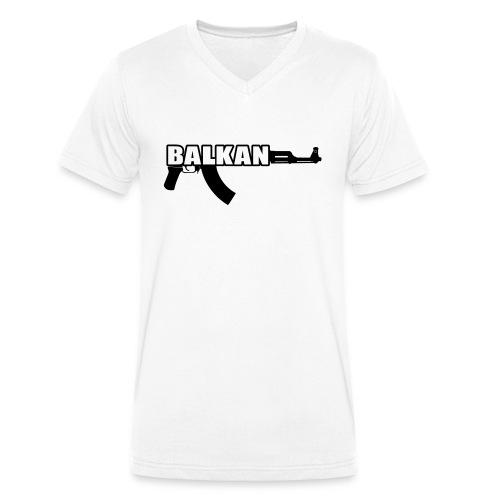 BALKAN - Men's Organic V-Neck T-Shirt by Stanley & Stella