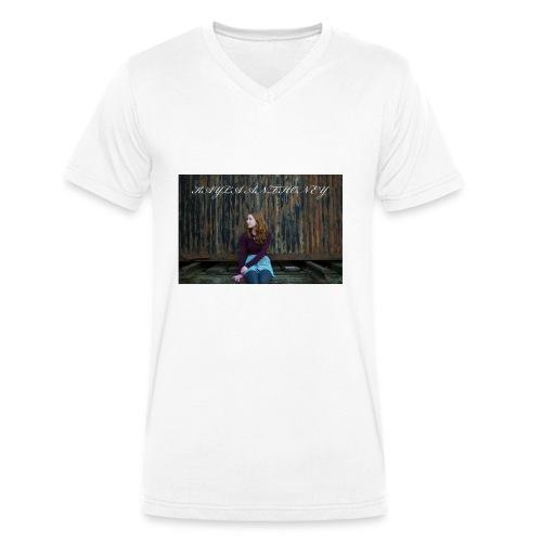 Kayla Anthoney Personal - Männer Bio-T-Shirt mit V-Ausschnitt von Stanley & Stella