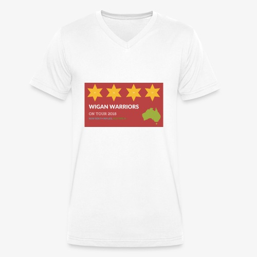 NSW AUS 2018 - Men's Organic V-Neck T-Shirt by Stanley & Stella