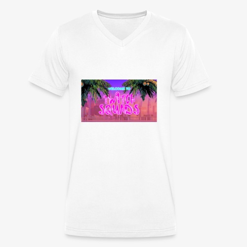 Welcome To Twitch Squads - Men's Organic V-Neck T-Shirt by Stanley & Stella