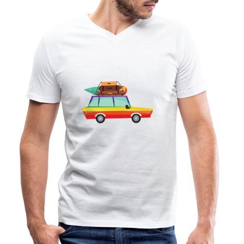 Gay Van | LGBT | Pride - Männer Bio-T-Shirt mit V-Ausschnitt von Stanley & Stella