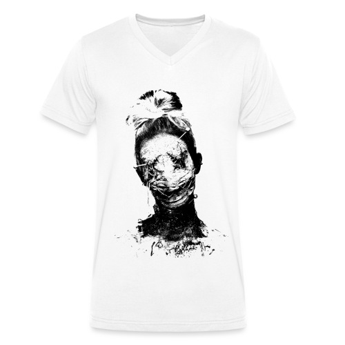 Voodoo - Men's Organic V-Neck T-Shirt by Stanley & Stella
