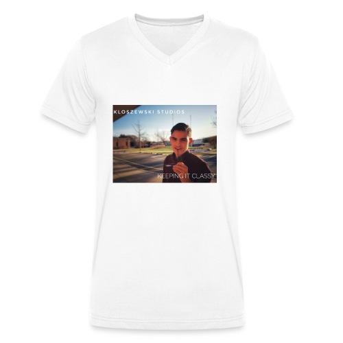 Keep it classy - Männer Bio-T-Shirt mit V-Ausschnitt von Stanley & Stella