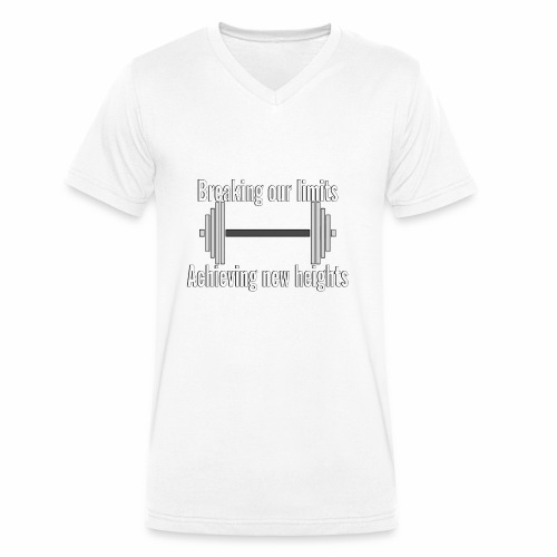 Tank Top - Økologisk Stanley & Stella T-shirt med V-udskæring til herrer