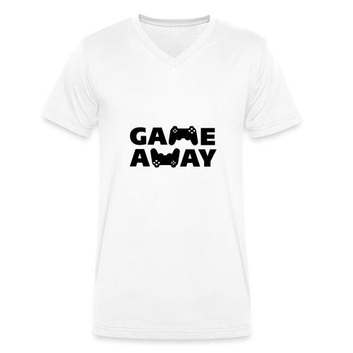 game away - Mannen bio T-shirt met V-hals van Stanley & Stella