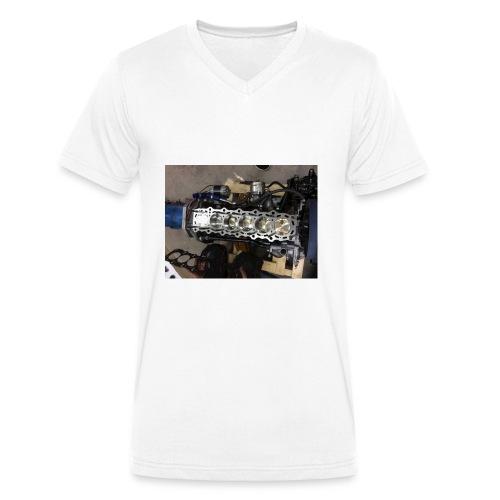 Motor tröja - Ekologisk T-shirt med V-ringning herr från Stanley & Stella