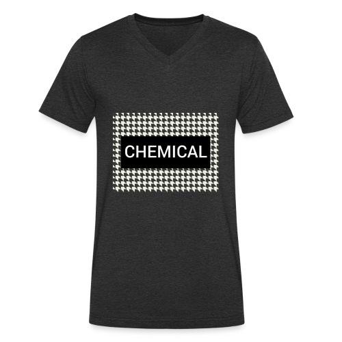 CHEMICAL - T-shirt ecologica da uomo con scollo a V di Stanley & Stella