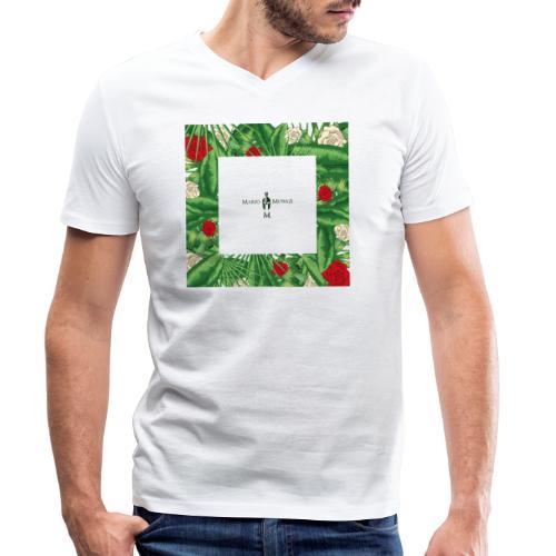Urban Jungle | Tropical Square - Männer Bio-T-Shirt mit V-Ausschnitt von Stanley & Stella