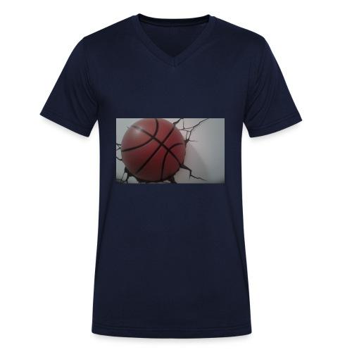 Softer Kevin K - Ekologisk T-shirt med V-ringning herr från Stanley & Stella