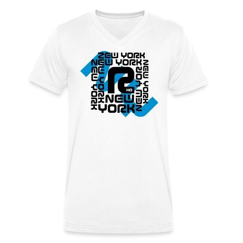 NEW YORK - Männer Bio-T-Shirt mit V-Ausschnitt von Stanley & Stella