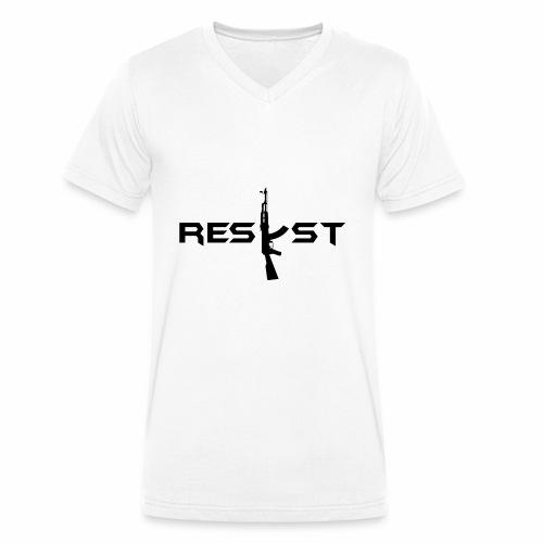 resist - T-shirt bio col V Stanley & Stella Homme