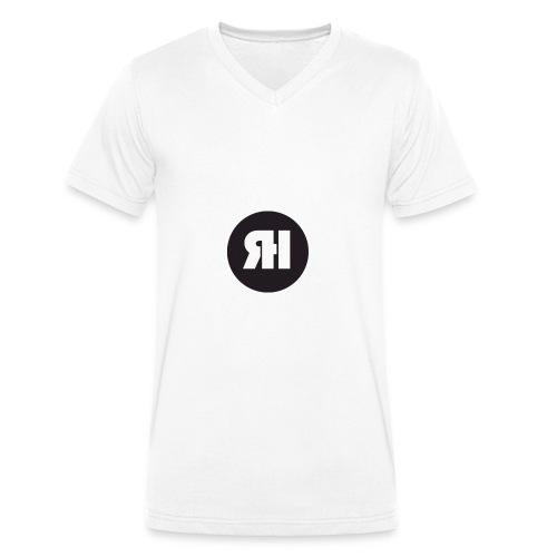 RH logo - Men's Organic V-Neck T-Shirt by Stanley & Stella