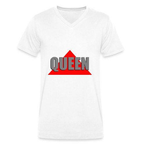 Queen, by SBDesigns - T-shirt bio col V Stanley & Stella Homme