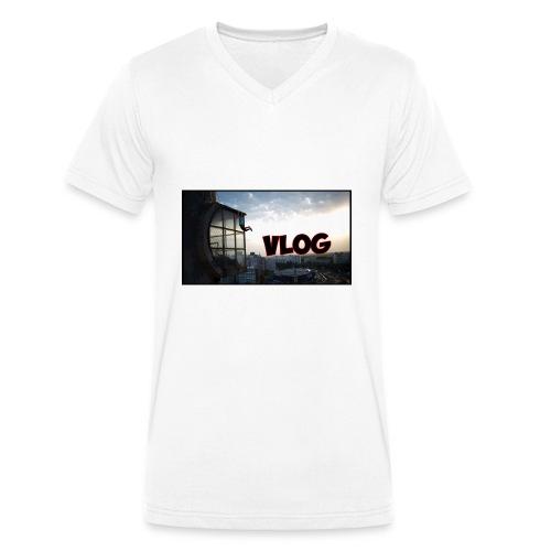 Vlog - Men's Organic V-Neck T-Shirt by Stanley & Stella